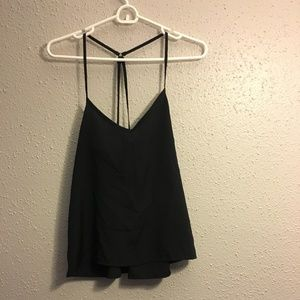 Hollister strappy tank top